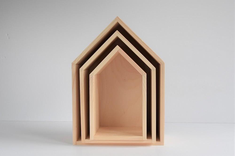 Półka domek - mała eLka
