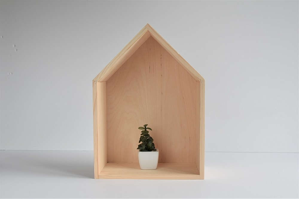Półka domek - mała eMka