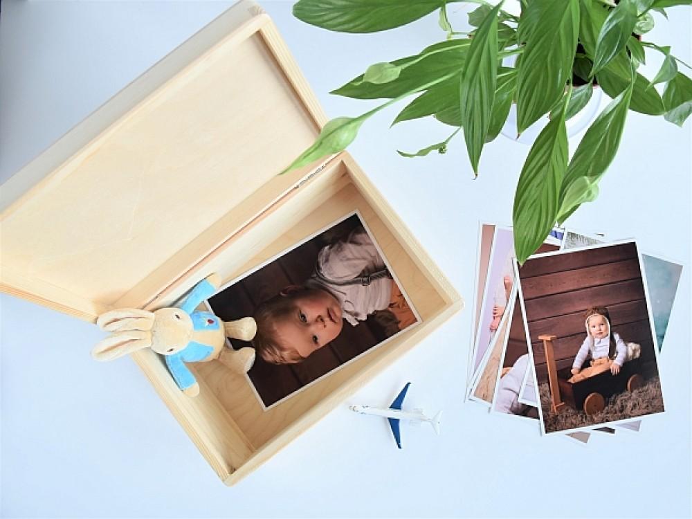 Memory box - z metryczką