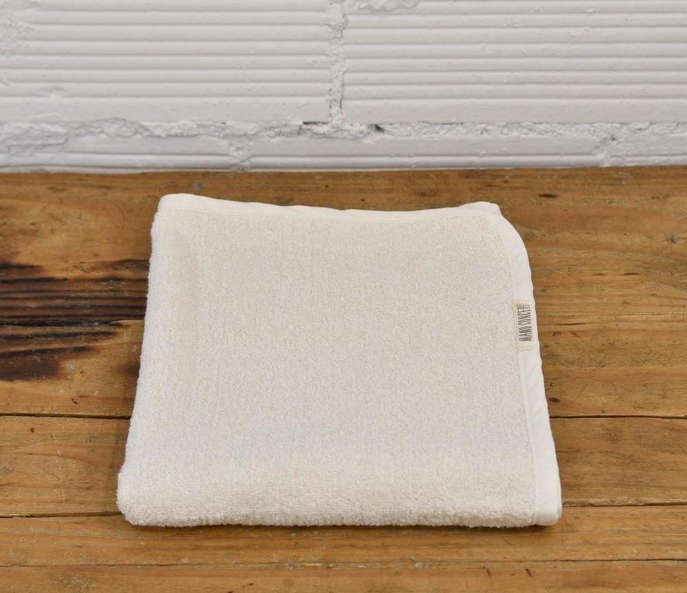Lniany ręcznik - kremowy mały