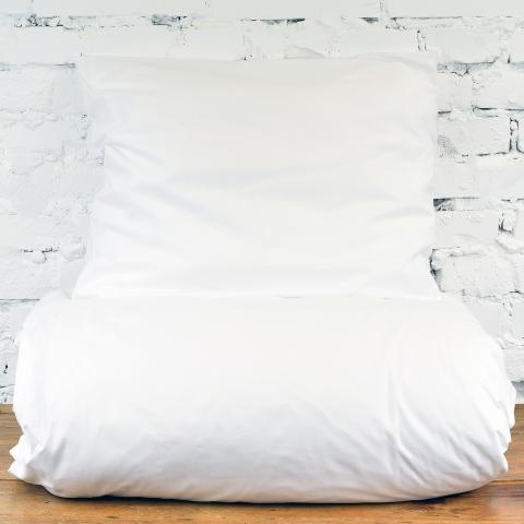 Bawełniana pościel - biała